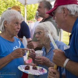 4th Annual Blueberry and Ice Cream Social, 2017